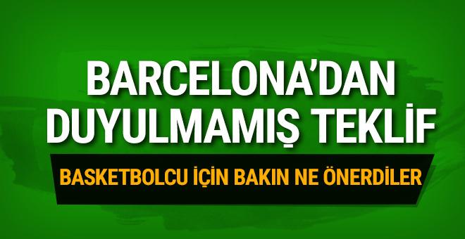 Barcelona'dan tarihi transfer teklifi!