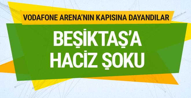 Beşiktaş'a haciz şoku... Memurlar stat kapısına dayandı!