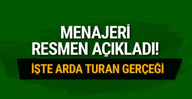 Arda Turan'ın menajerinden Barcelona açıklaması