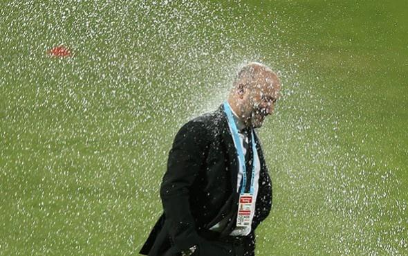 Galatasaray maçında Cenk Ergün'ün zor anları