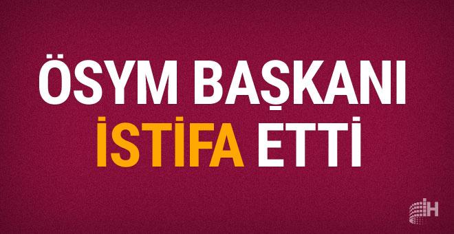 ÖSYM Başkanı Ömer Demir istifa etti işte asıl sebep
