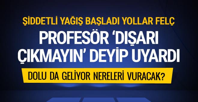 İstanbul'da hava patladı! Profesör uyardı : 'Dışarı çıkmayın!'