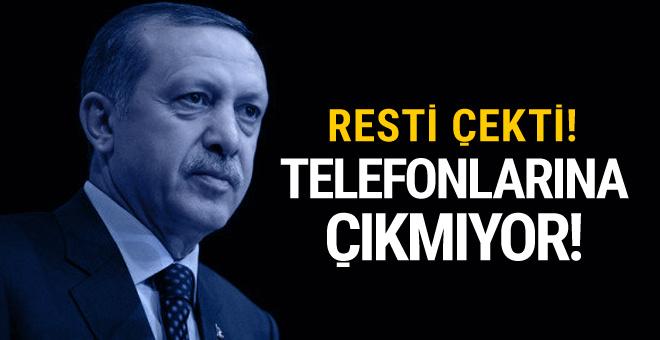Erdoğan'ın telefonlarına çıkmadığı lider!