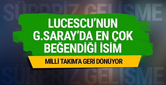 Lucescu'nun Galatasaray'da en çok beğendiği isim