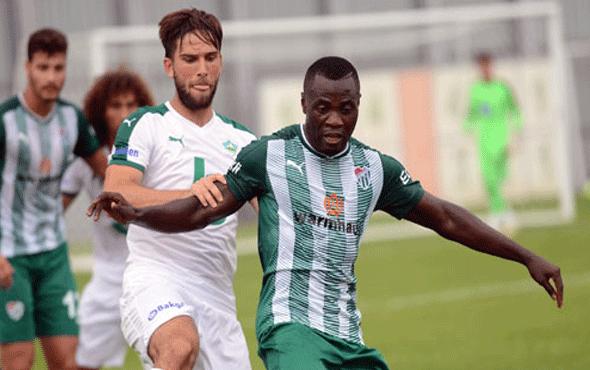 Bursaspor rakibine gol yağdırdı