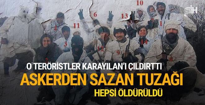 Karayılan'ı çıldırtan teröristlere Mehmetçik'ten sazan tuzağı