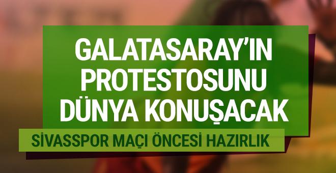 Galatasaray'ın protestosunu dünya konuşacak