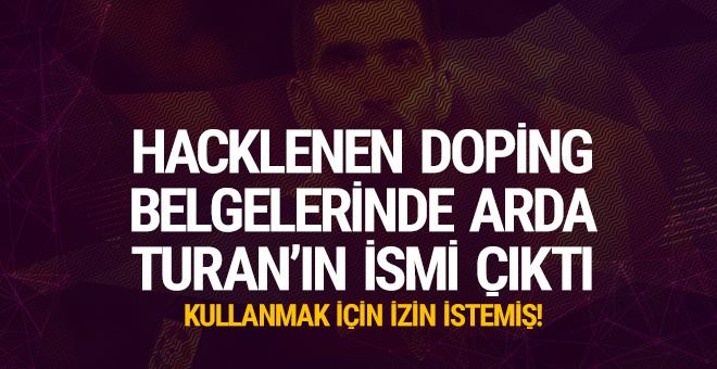 Hacklenen doping belgelerinde Arda Turan'ın ismi çıktı
