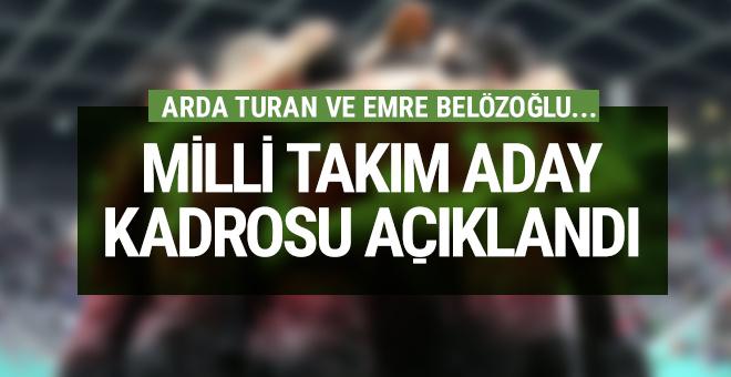 Arda Turan Milli Takım'a geri döndü!