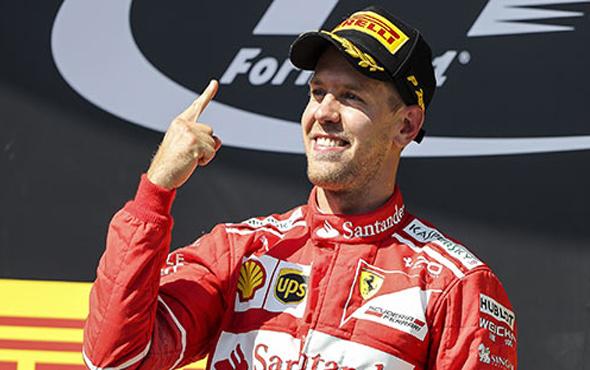 Ferrari Vettel ile nikah tazeledi