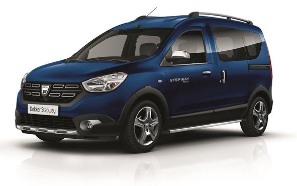 Dacia Dokker Combi Stepway Plus+ satışa çıktı