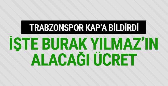 Burak Yılmaz resmen Trabzonspor'da