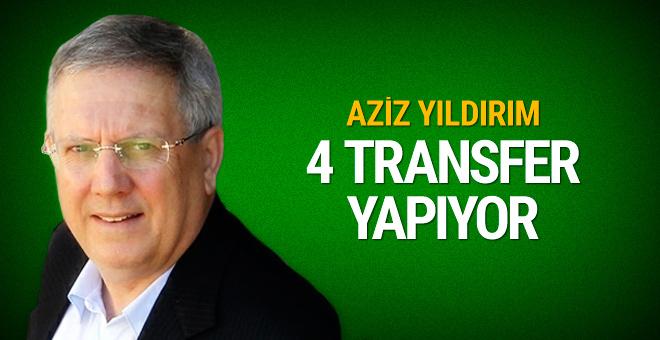 Fenerbahçe'nin transfer edeceği 4 futbolcu belli oldu