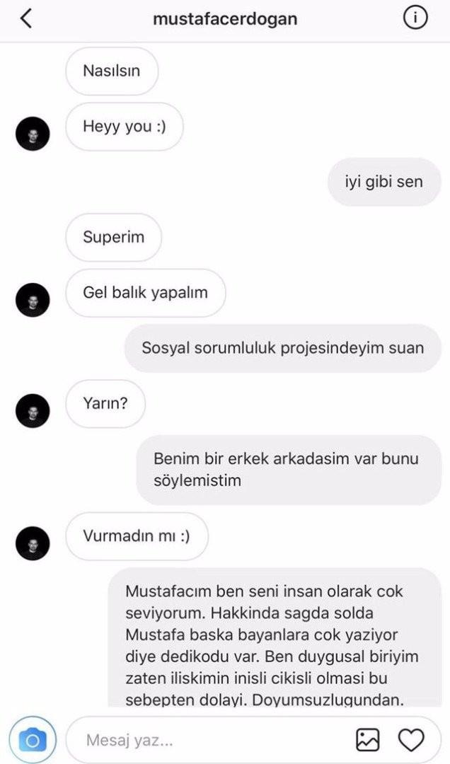 Mustafa Erdoğan ile Hatice'nin özel mesajları ifşa oldu!