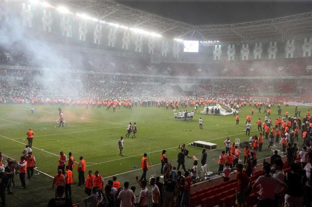 Beşiktaş ile Konyaspor maçının temsilci raporu