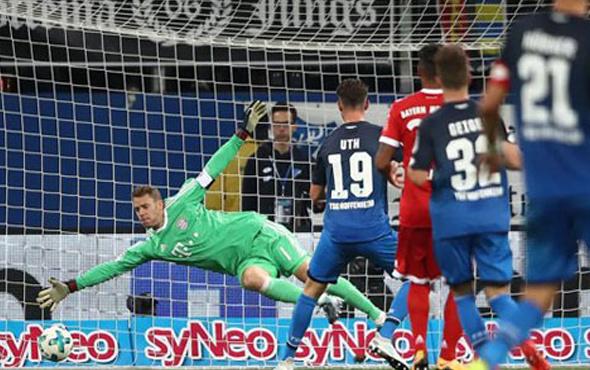 Hoffenheim Bayern Münih'i yıktı