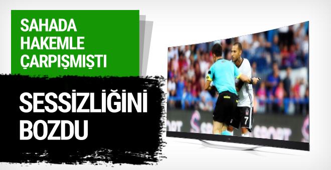 Beşiktaş'ın yıldızı Quaresma'dan hakem açıklaması