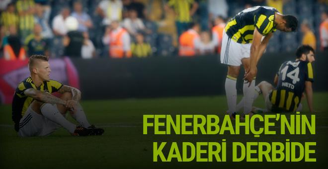 Derbi Fenerbahçe'nin kaderini belirleyecek