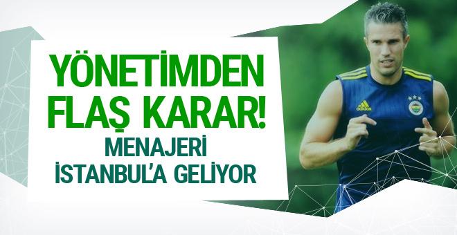 Fenerbahçe'den Van Persie için flaş karar!