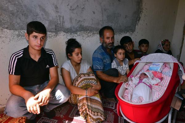 Eşi doğumdan sonra öldü 6 çocuklu babanın çaresizliği