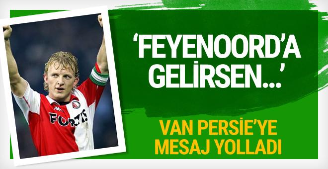Kuyt'tan Robin Van Persie'ye Feyenoord mesajı