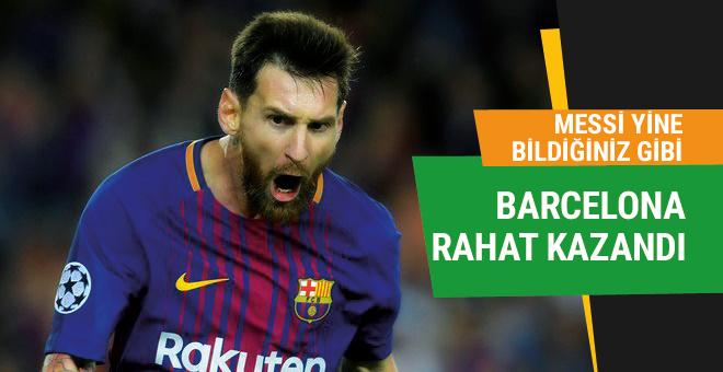 Barcelona Juventus'u rahat geçti