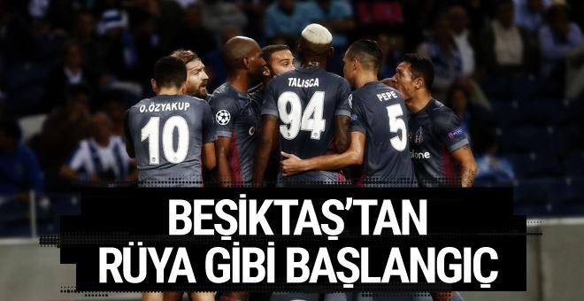 Porto-Beşiktaş maçı golleri ve geniş özeti