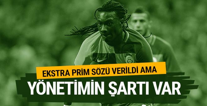 Galatasaray yönetimi Gomis'e ekstra prim verecek