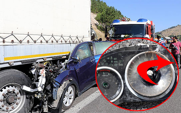 Ankara'da feci kaza! İbredeki hız şok etti