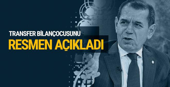 Dursun Özbek transfer bilançosunu resmen açıkladı!
