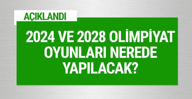 2024 ve 2028 Olimpiyatları'nın düzenleneceği yerler belli oldu