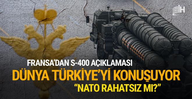 Fransa'dan Türkiye için NATO açıklaması