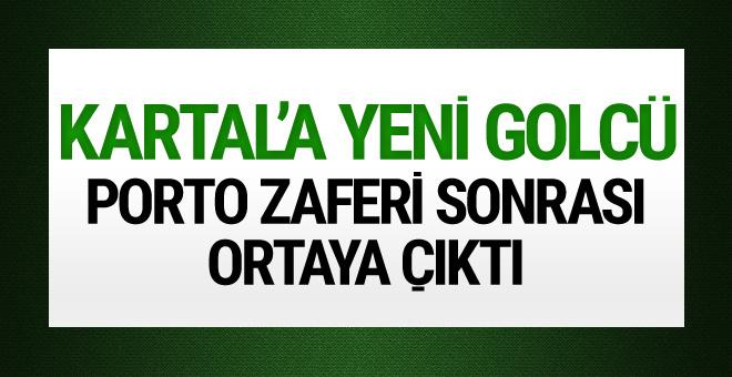 Porto zaferi sonrası Beşiktaş'a yeni gölcü