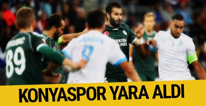 Atiker Konyaspor Olympique Marsilya maçı sonucu ve özeti