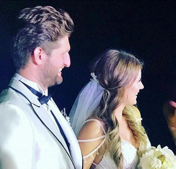 Gizem Karaca evlendi düğün öncesi Kerimcan ile yatak dansı olay