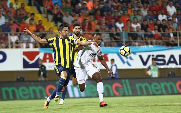 Alanyaspor-Fenerbahçe maçı fotoğrafları