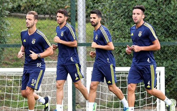 Fenerbahçe'de derbi hazırlıkları başladı