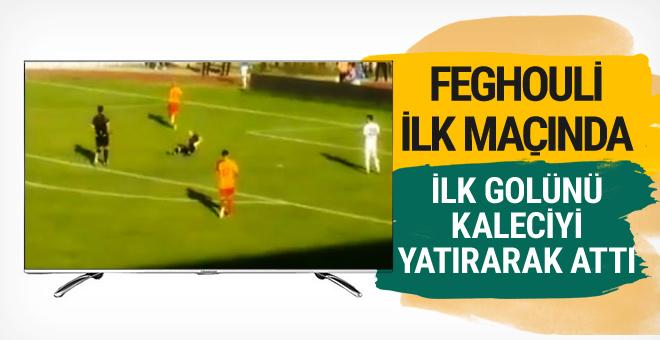 Galatasaray'ın yeni transferi Feghouli ilk golünü attı