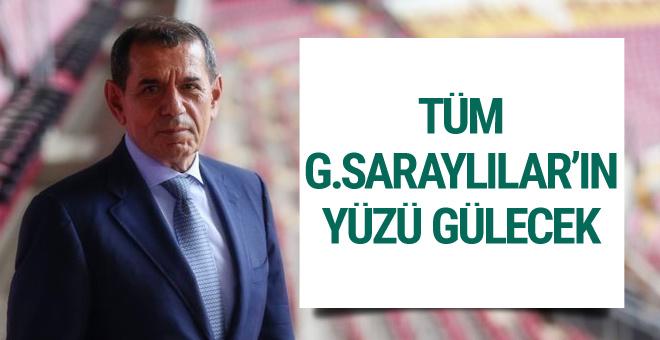 Dursun Özbek'ten taraftarı mutlu edecek sözler