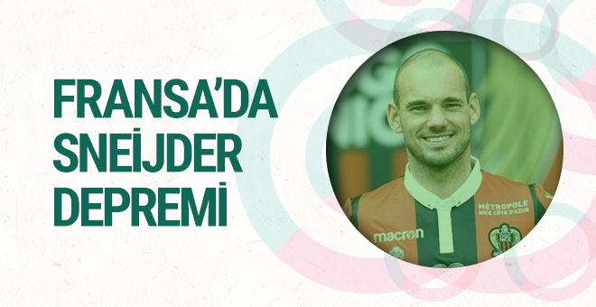 Sneijder yeni takımında gözden düştü