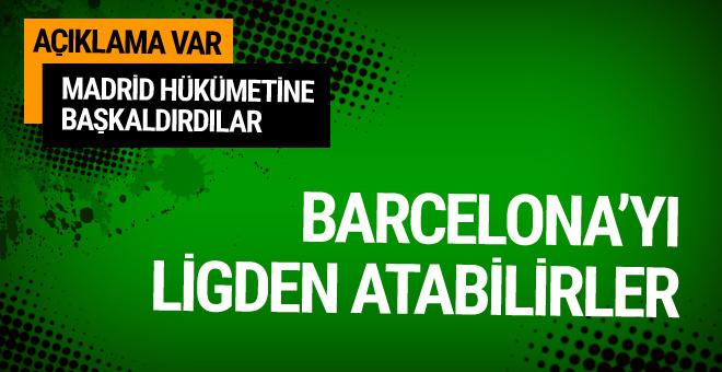 Barcelona'dan Katalan halkını destekliyoruz açıklaması