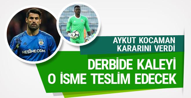 Fenerbahçe'de kaleci krizi çözüldü!
