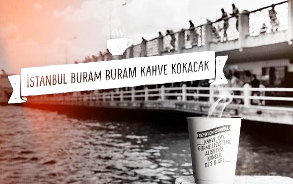 """""""İstanbul Kahve Festivali"""" Maçka'da başladı"""