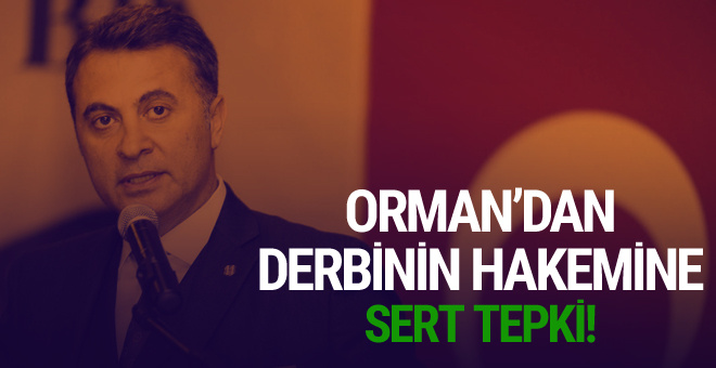 Fikret Orman'dan Ali Palabıyık'a gönderme