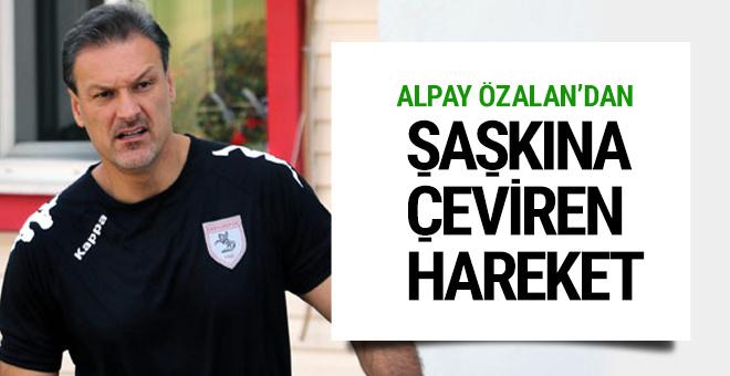 Samsunspor'da basına Alpay Özalan sınırlaması