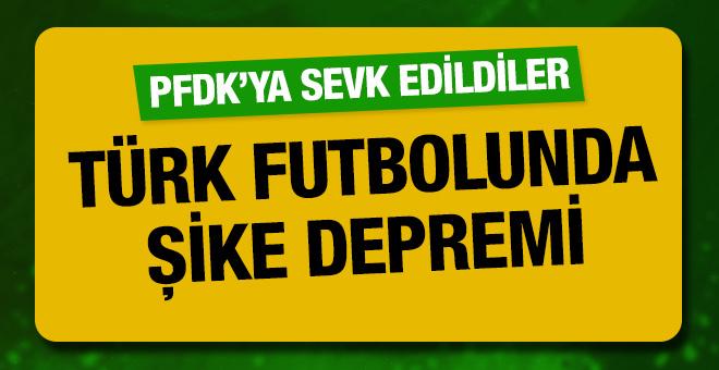 TFF 1. Lig'de şike depremi! PFDK'ya sevk edildiler!