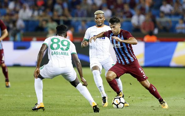 Trabzonspor-Alanyaspor maçından fotoğraflar
