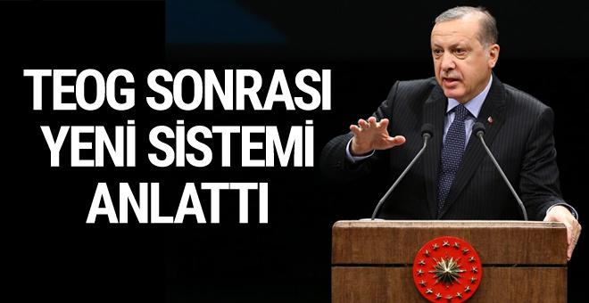 Erdoğan TEOG sonrası yeni sistemi anlattı