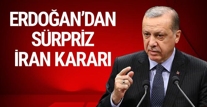 Erdoğan İran'a gidiyor