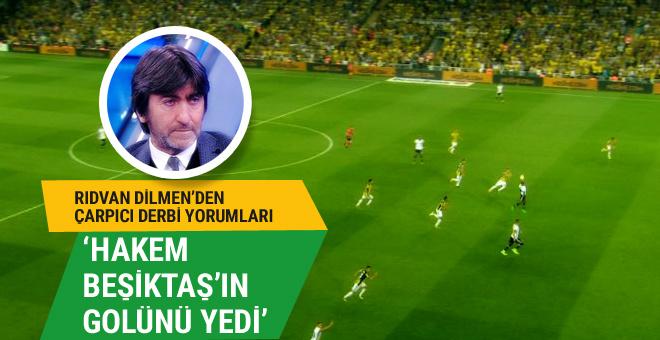 Fenerbahçeli Rıdvan Dilmen Beşiktaş'ı savundu!